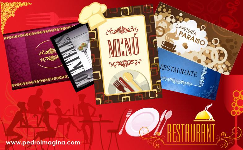 Dise o p ginas web y logos para restaurantes cafeter as for Disenos de menus para cafeterias